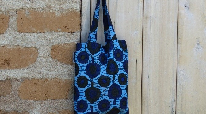Electric Blue Mini-Tote